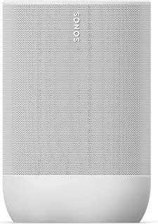 Sonos Move - Portable Bluetooth + Wireless Speaker - New Lunar White