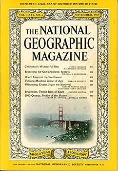 Single Issue Magazine National Geographic Magazine, November 1959 Book