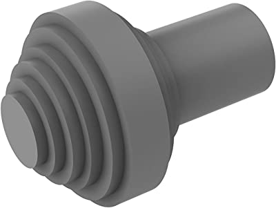 Allied Brass 102AT-GYM 1-1//2 Inch Cabinet Knob Matte Gray