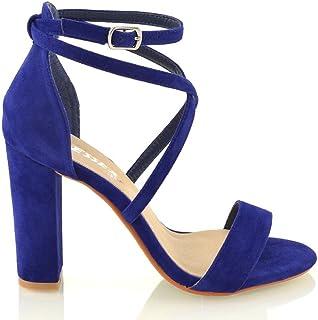 6402eb1a3ca20 Amazon.co.uk: Blue - Sandals / Women's Shoes: Shoes & Bags