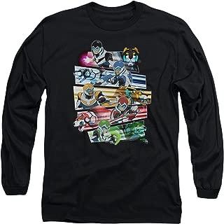 Voltron: Legendary Defender Paladin's Strike Unisex Adult Long-Sleeve T Shirt for Men and Women