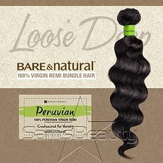 bare and natural loose deep hair