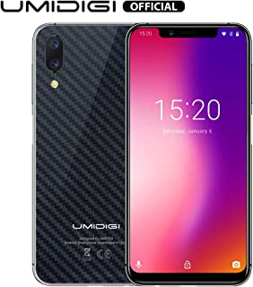 UMIDIGI One Pro Global Band&Phablet International Version Android 8.1 Mobile Phone Wireless Charge 4GB 64GB Face ID Smart ...