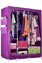 HN Wardrobe, Cloth Wardrobe Assembly Cloth Wardrobe Simple Wardrobe Bold Reinforcement Folding Storage Wardrobe 8 Color Op...