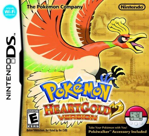 Pokemon HeartGold (Nintendo DS) [Importación inglesa]