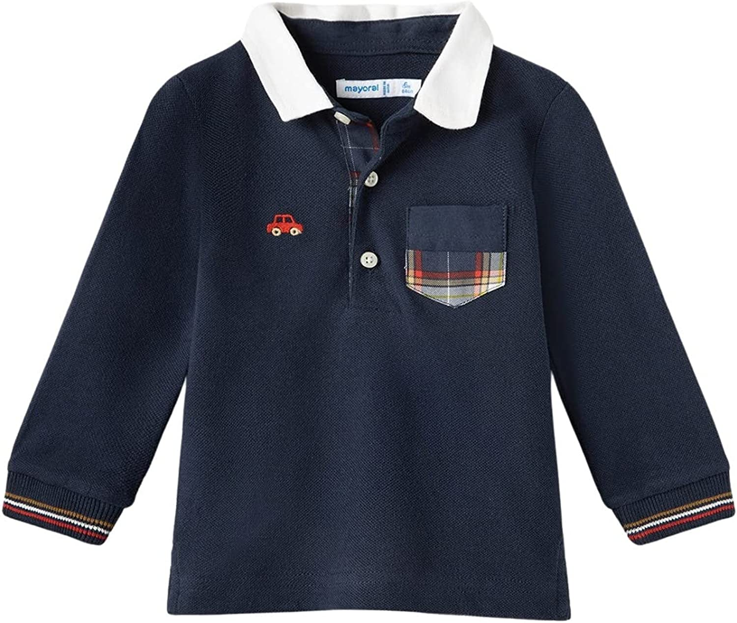 Mayoral Cheap mail order specialty store - L s Polo Blue Easy-to-use 2139 for Baby-Boys