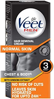 Veet Hair Removal Cream for Men, Normal Skin - 100g