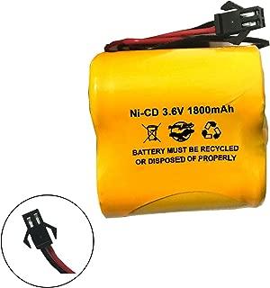 Unitech SC1800mAh 3.6V ELB-B002 ELBB002 OSA269 NIC1671 3.6v 1800mah Ni-CD Battery Pack for exit Sign Emergency Light Lithonia 745975931774 LITELBB002