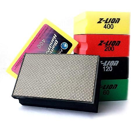 grit 60, 200, 400 KGS PRO-PAD Diamond Hand Polishing pads 3 Pack, Combination set