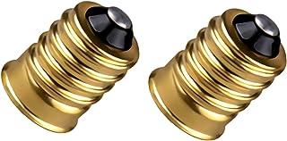 Satco 92-401 - European to Candelabra Reducer Socket - 2 Pack