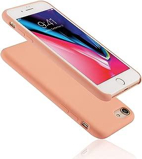 Seasonal Discovery IPHONE 8/7 高品質シリコーンスマホカバー 【高品質液態シリコーン素材/内側繊維バンバー/シンプルなデザイン/ワイヤレス充電可能/汚れが付きにくい/指紋の付着やホコリを防ぎ清潔に保つ】iPhone 8/7 (フラミンゴ Flamingo)