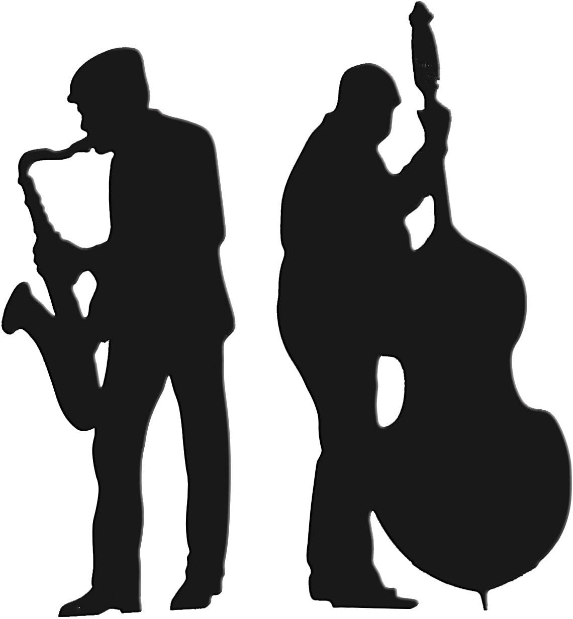 Anderson's Black Sax and Bass Cardboard Size Max 83% OFF Standu online shopping Players Life