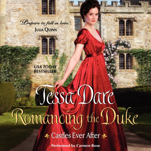 Romancing the Duke audiobook cover art