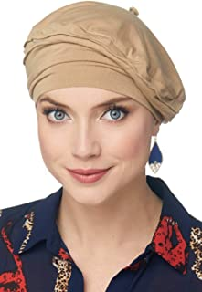 Cardani Triumph Beret in Luxury Bamboo Hat for Fashion, Cancer, Chemo - Head Covering for Women