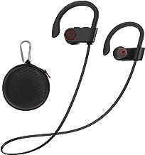هدفون بلوتوث Argmao U9 ، هدفون ضد آب 12 ساعت Playtime Wireless Earbuds IPX7 با ایرباد داخل گوش Mic HD HD استریو ضد عرق برای ورزش های بدنسازی در حال اجرا سر و صدا