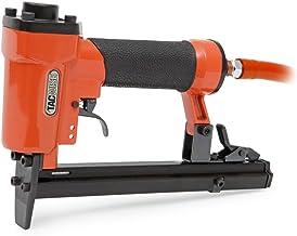 Tacwise A14014V Fissatrice Pneumatica Pinzatrice Professionale ad Aria per Punti Serie 140 da 4 a 14 mm, Arancione