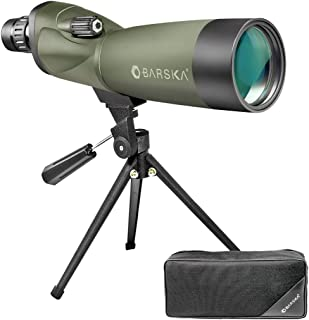 BARSKA 18-36 x 50 mm Waterproof Fog-Proof Spotting Scope with Tripod and Case for Bird Watching Target Shooting Archery Range Outdoor Activities