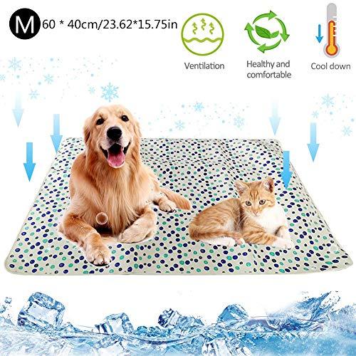 Haustier-Kühlmatte, Hund Bequemes SeLf-Kühlkissen Halten Sie Haustiere für den Sommer im Innen- und Außenbereich kühl