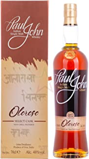 Paul John Whisky OLOROSO SELECT CASK Indian Single Malt 1 x 0.7 l