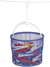 WENKO 3716010100 wasknijper-mandenset, incl. 30 wasknijpers, polypropyleen, 19 x 9 x 19 cm, blauw