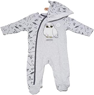 Primark Harry Potter Hedwig Sleepsuit Hat /& Plush Toy Boxed Set 3-6 Months New