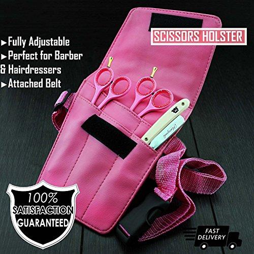 Soporte de cinturón de herramientas tijeras de peluquería tijeras/tijeras para cinturón bolsa.