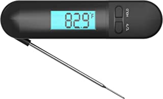 New generation Waterproof Digital Thermometer for Kitchen with big Backlight & fridge magnets Instant Read food Thermometer