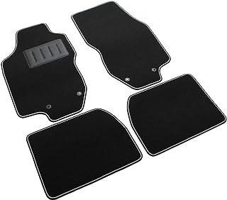 Proposteonline Vasca Tappeto Copertura Multiuso per Baule Bagagliaio Auto Nera Compatibile con Lancia LYBRA SW 5 Porte dal 1999 al 2006 3820