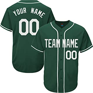Best green and white baseball jersey Reviews