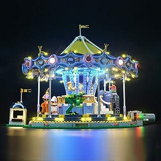 Juego de luces de iluminación para (Creator Expert Carousel