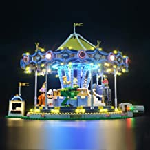LIGHTAILING Light Set for (Creator Expert Carousel) Building Blocks Model - Led Light kit Compatible with Lego 10257(NOT Included The Model)