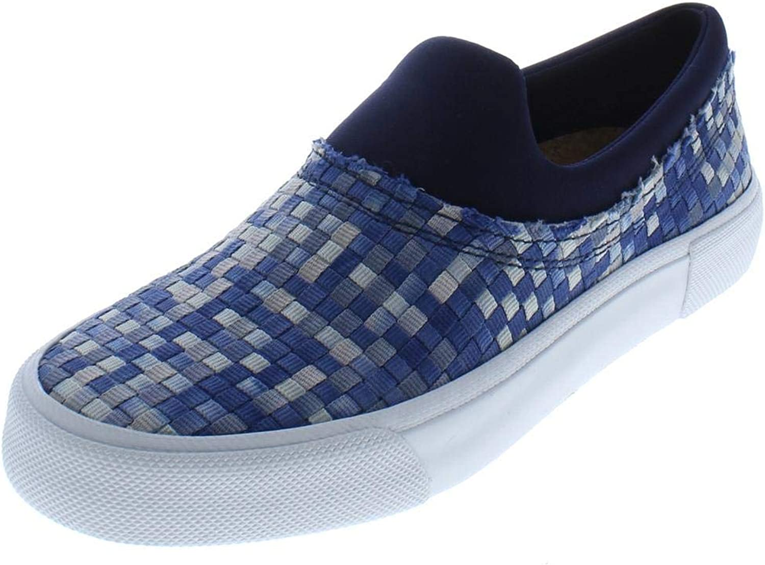 Jessica Simpson Womens Dalana Basketweave Padded Insole Fashion Sneakers