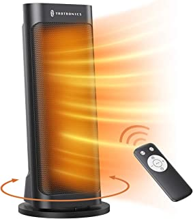 Space Heater, TaoTronics PTC 1500W Fast Quiet Heating Ceramic Tower Heater Oscillating..