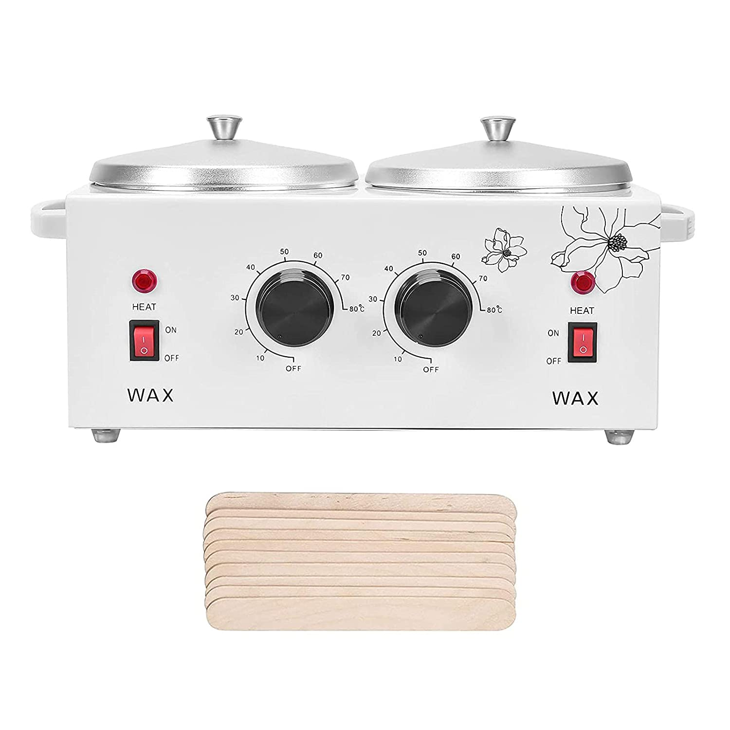 Double Wax Warmer Professional Removal shipfree 100% quality warranty Electric Heater Hair