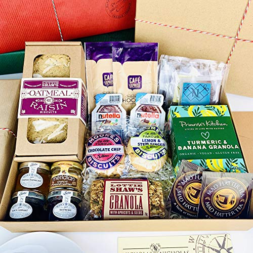 Breakfast Letterbox Hamper. The Weekend Hamper is a Perfect Gift for Friends and Family