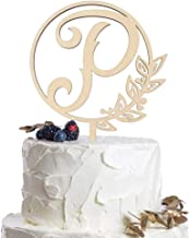 Best wooden monogram wedding cake toppers Reviews