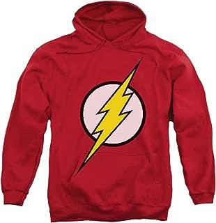 The Flash Logo DC Comics Superhero Adult Pull-Over Hoodie