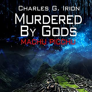 Murdered by Gods audiobook cover art