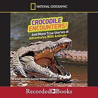 Crocodile Encounters! audiobook cover art