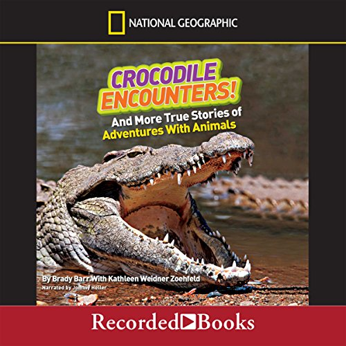 Crocodile Encounters! audiobook cover art