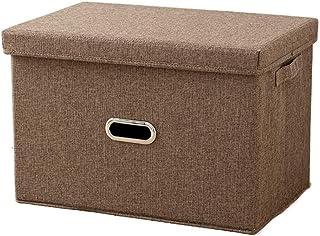 Boîtes de rangement pliables avec poignées Panier de rangement pliable en cubes en tissu, corbeilles d'organisation avec c...