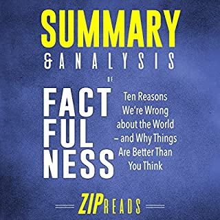 Summary & Analysis of Factfulness: A Guide to the Book by Hans Rosling audiobook cover art