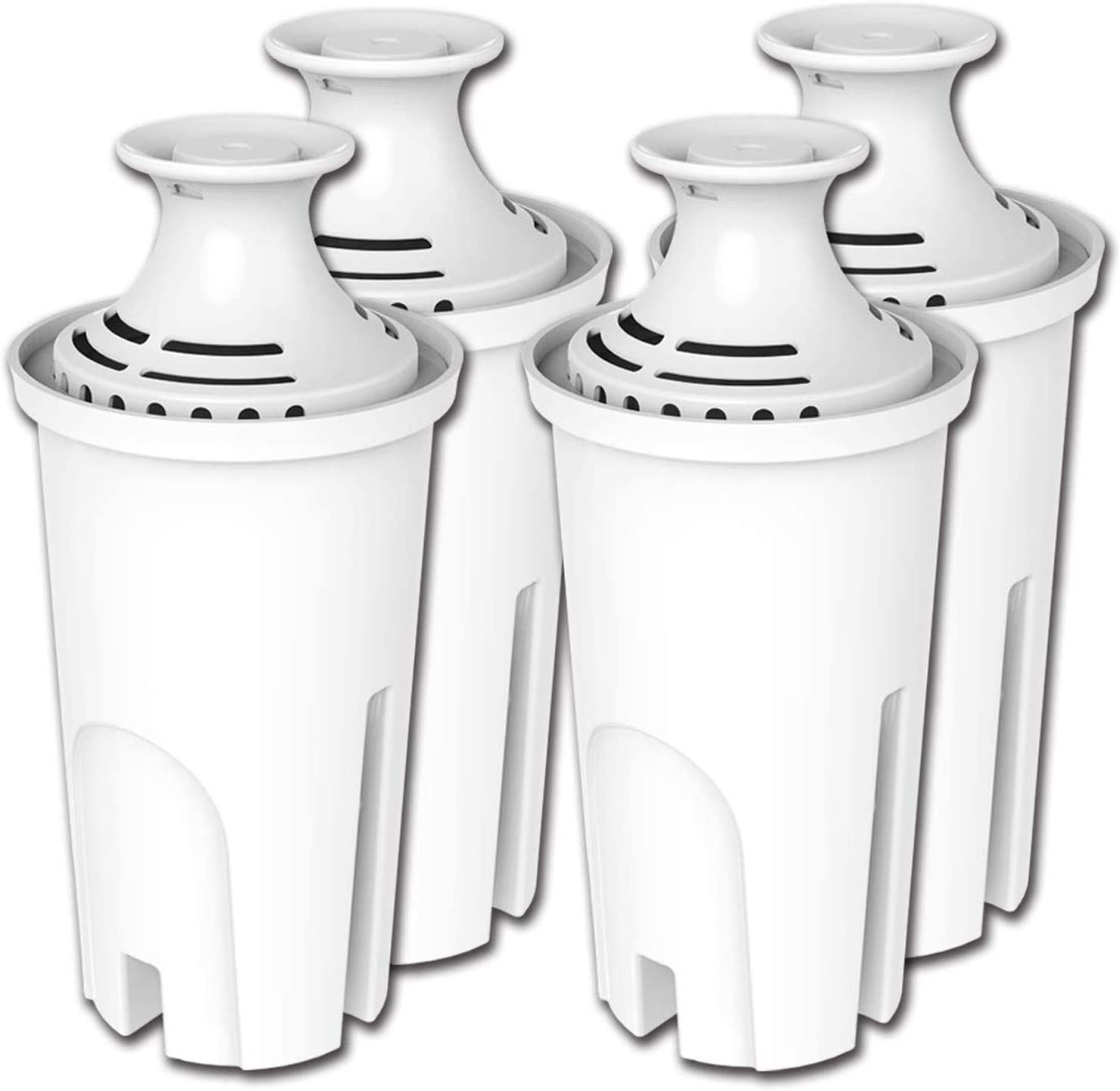 PUREUP 4 Pack Standard Water Brita Filter Compatible Cheap mail order specialty store Pitche with Inexpensive