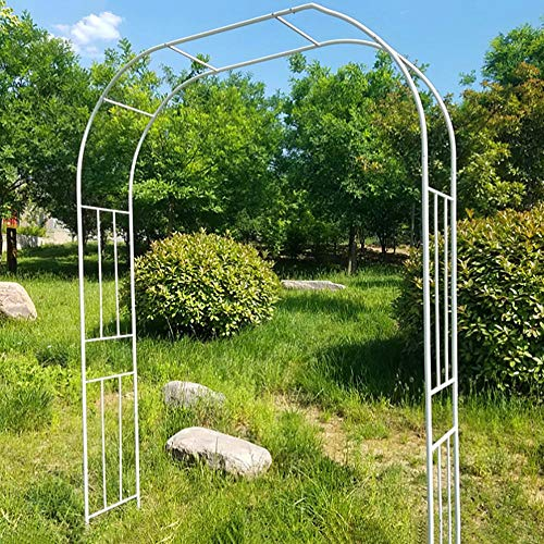 Wedding Arches for Ceremony, Metal Arch Courtyard Balcony Bracket Garden Arch, Archway Trellis Arch B