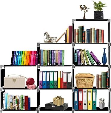 THOS Simple Bookshelf/Multipurpose Rack/Children Bookcases/File Rack for Office/Storage Organizer/Cabinet Shelves for Bedroom