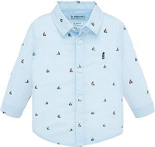 Mayoral Camisa ML estampada niño