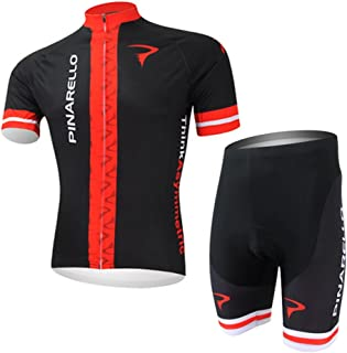 Men's Cycling Jersey Set Bike Jersey Bicycle Summer Breathability Short Sleeve Suit C138