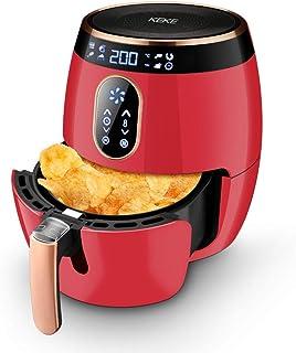 LEILEI Friteuses à air électriques avec Panier,friteuse à air Tour avec système de Circulation d'air Rapide,friteuse élect...