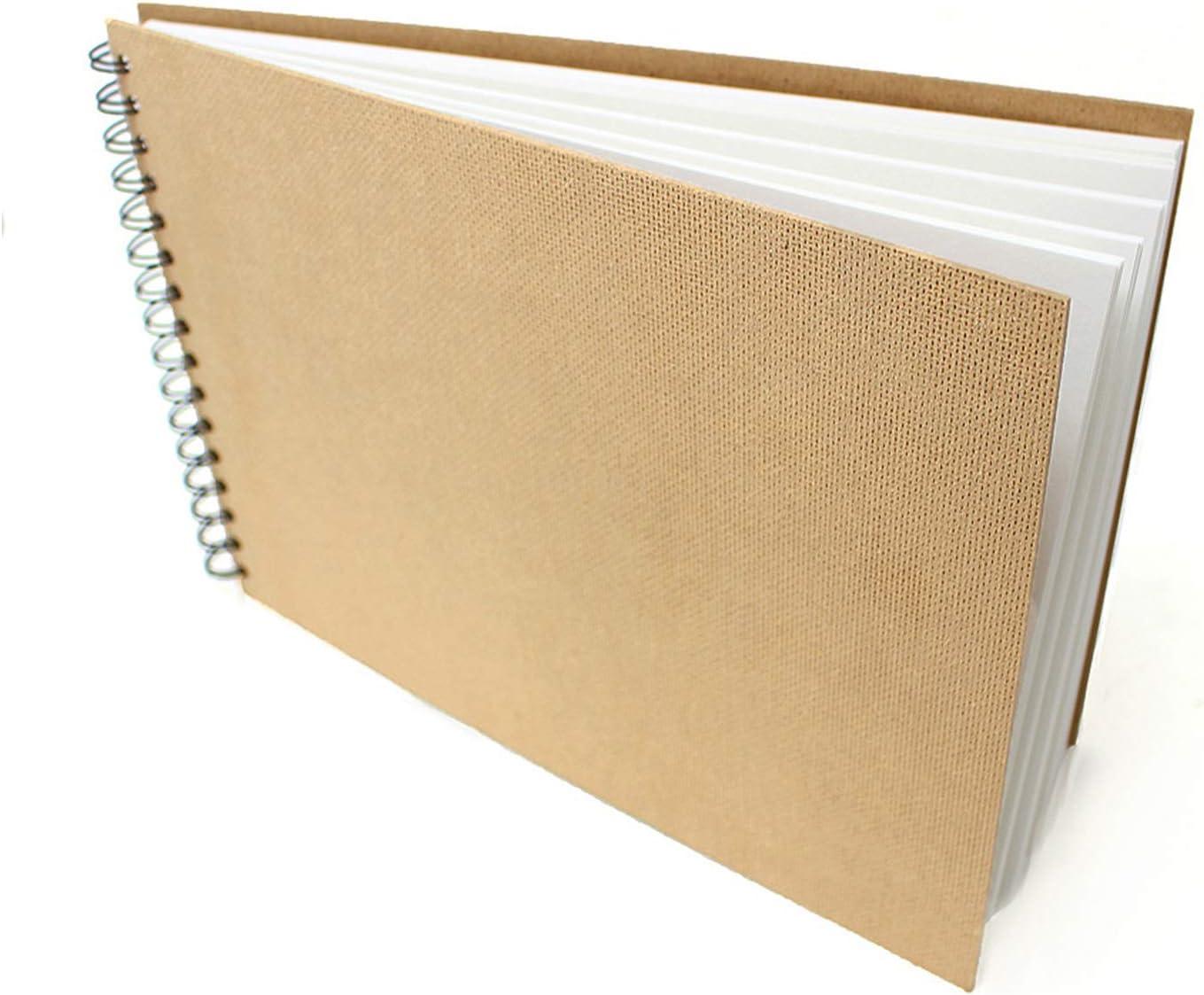 Artway Cuaderno de bocetos, Papel, Blanco, A4 Apaisado