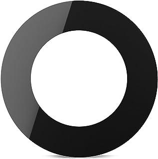 Mobofix Reemplazo de ensamble de anillo de cubierta de lente de vidrio de cámara trasera para IPhone 7